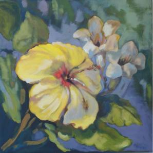 Mary Bernd - Yellow Hibiscus