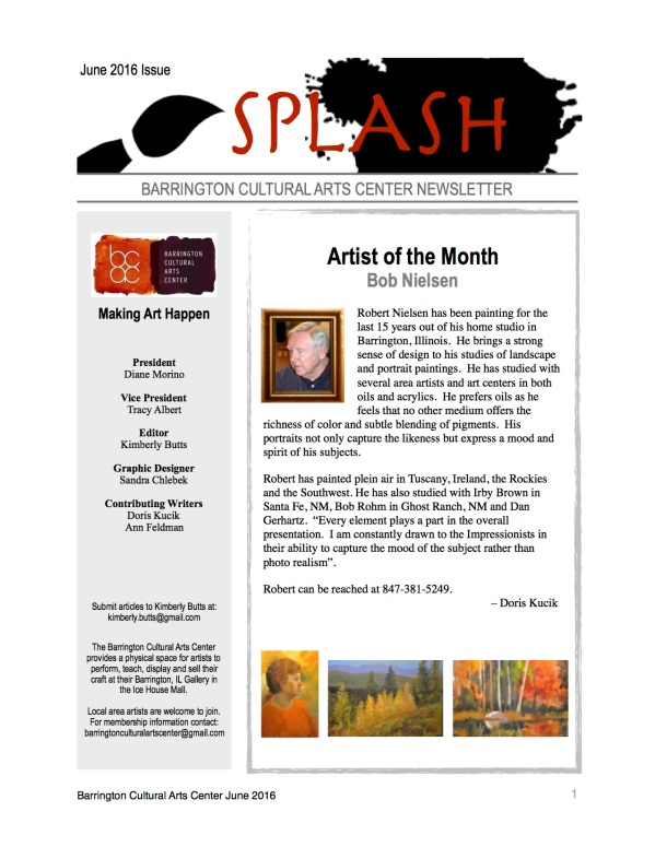 Splash - BCAC June Newsletter