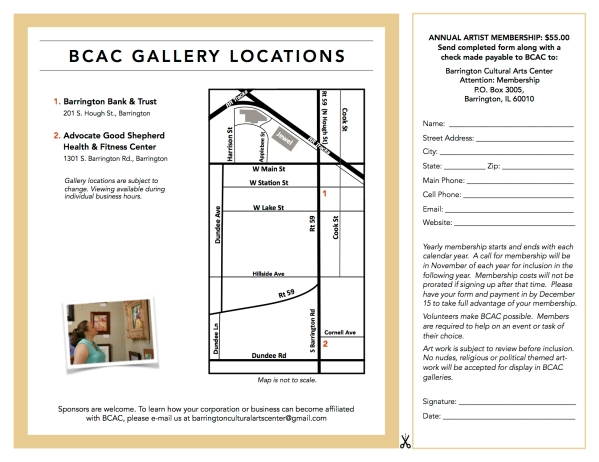 BCAC Brochure and Membership Form 01/19.2