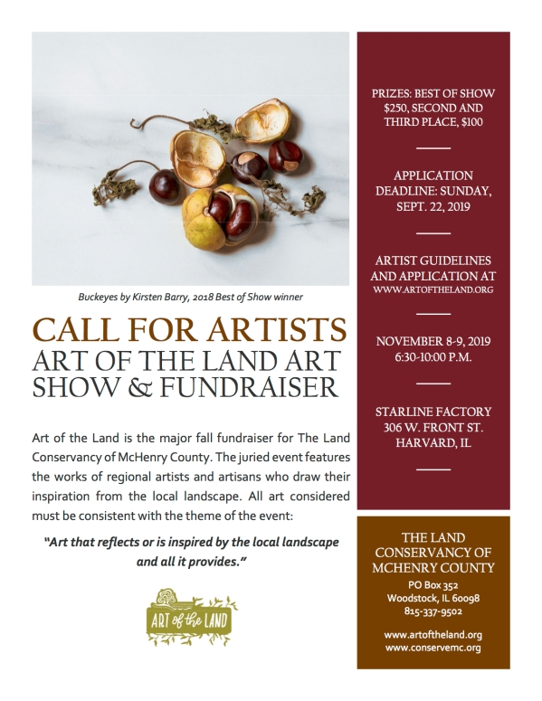 Call for Artists Flyer
